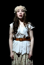 As Eponine in LES MISERABLES